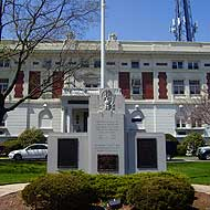 exterior of Borough Hall